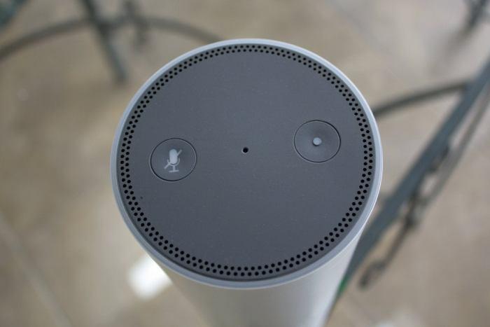 Amazon Echo Plus buttons