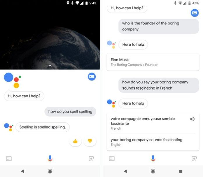 Google Assistant commands - GA knowledge