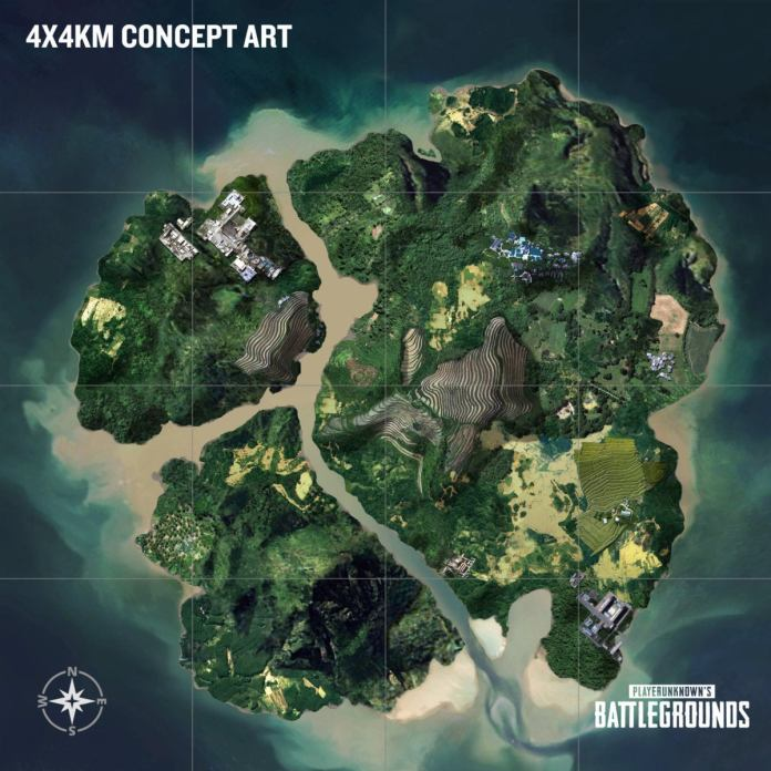 Playerunknown's Battlegrounds - Third Map