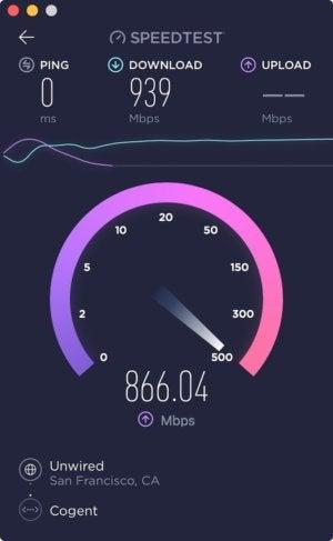 Mac speedtest