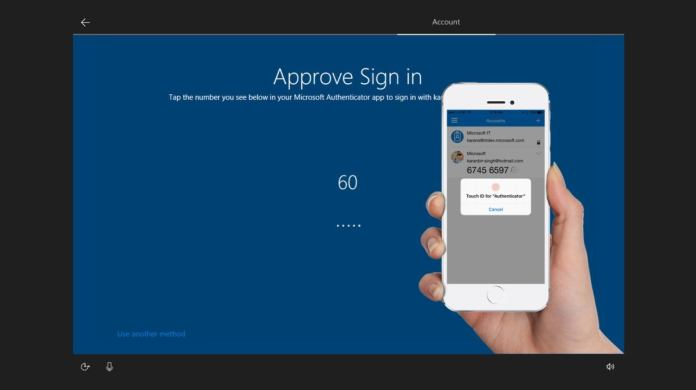 Microsoft windows 10 s authenticator app