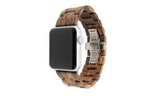 epic wood apple watch band