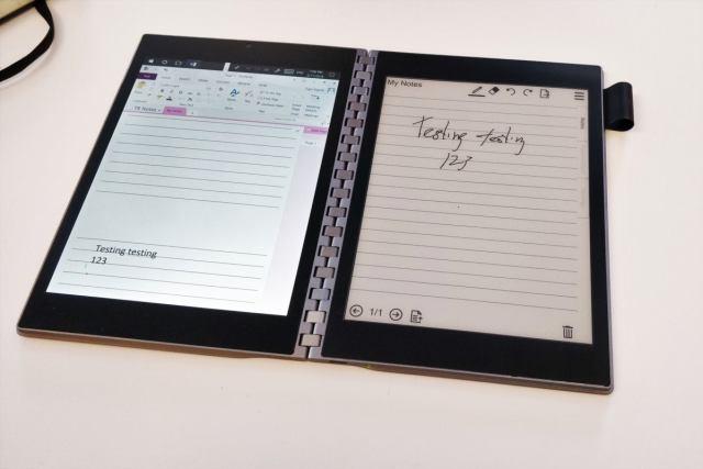 Intel handwriting to text