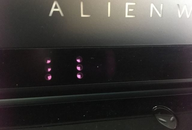 alienware lights