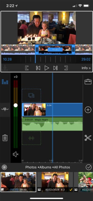 lumafusion iphone editing tools