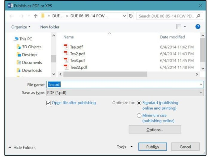 06b2 publish pdf as a standard online and or print file