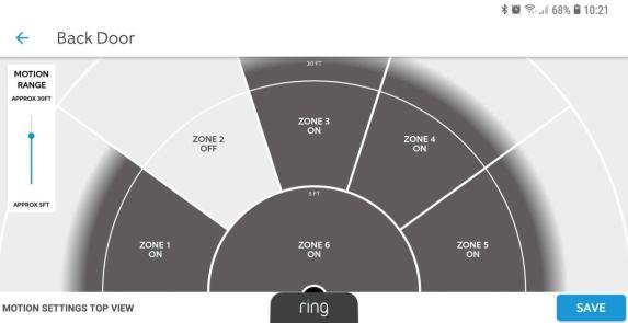 détection mouvement ring