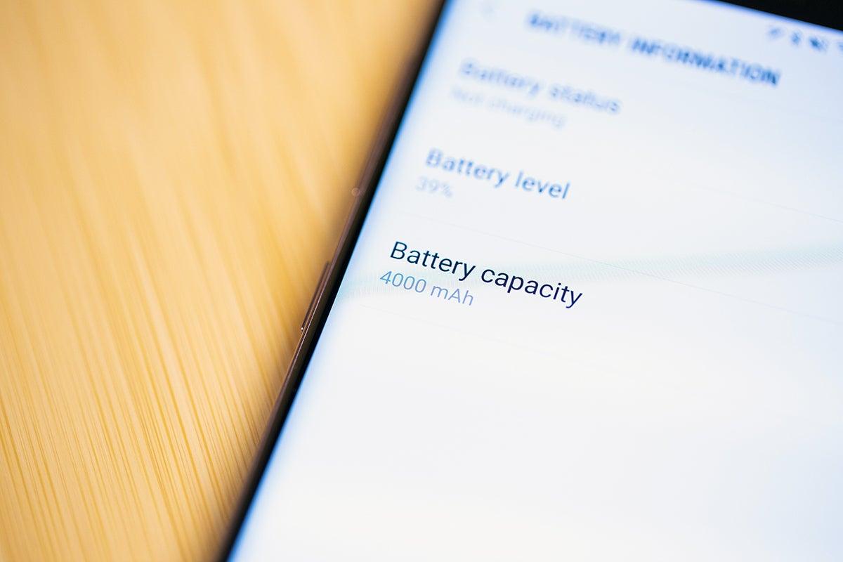 Samsung Galaxy Note 9 4000mAh battery