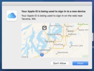 mac911 2fa trusted login map