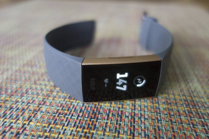 fitbit charge 3 table