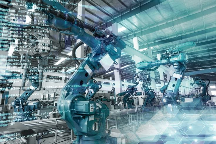 4 industrial iot robotics automation manufacturing code