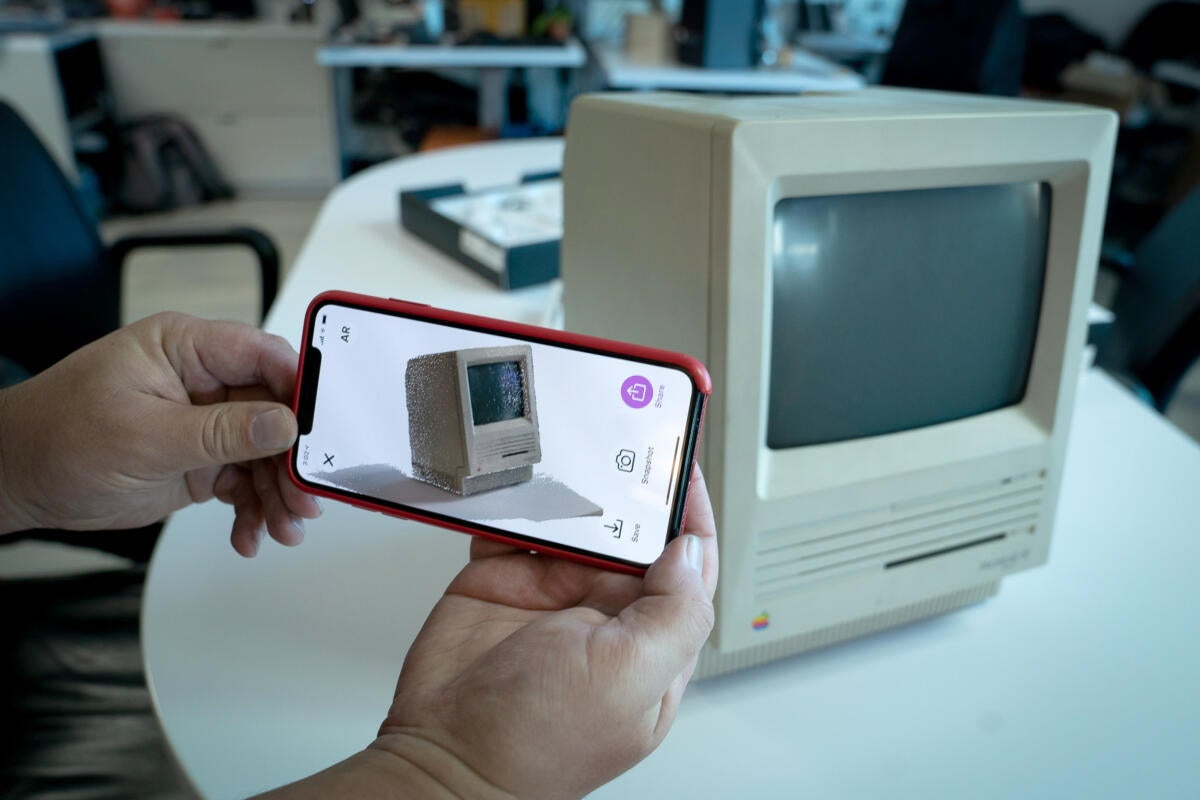 Capture An Iphone 3d Scanner App Hints At The Future Of
