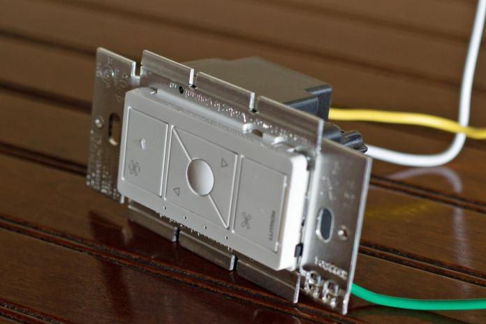 lutron caseta fan control side tabs