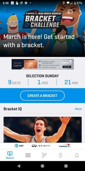 march madness app 2019
