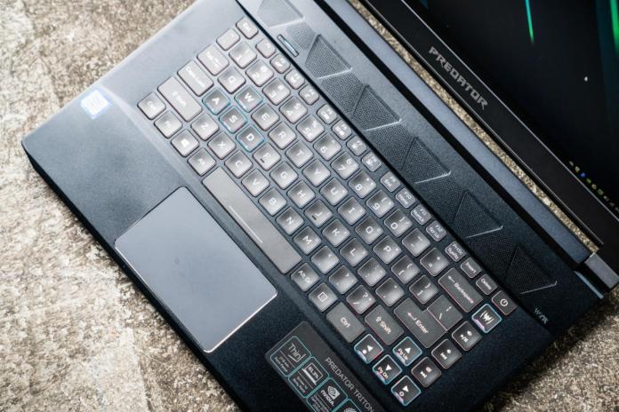 Acer Predator Triton 500 Core i7-8750H GeForce RTX 2060