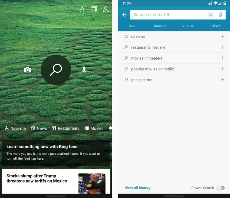 05 bing search android 2019