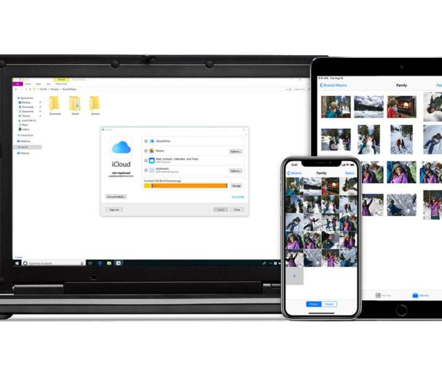 Apples Icloud App Finally Comes To The Windows Store With Onedrives Syncing Prowess