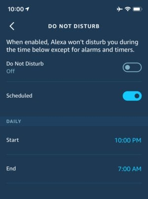 echo 6 tips do not disturb 1