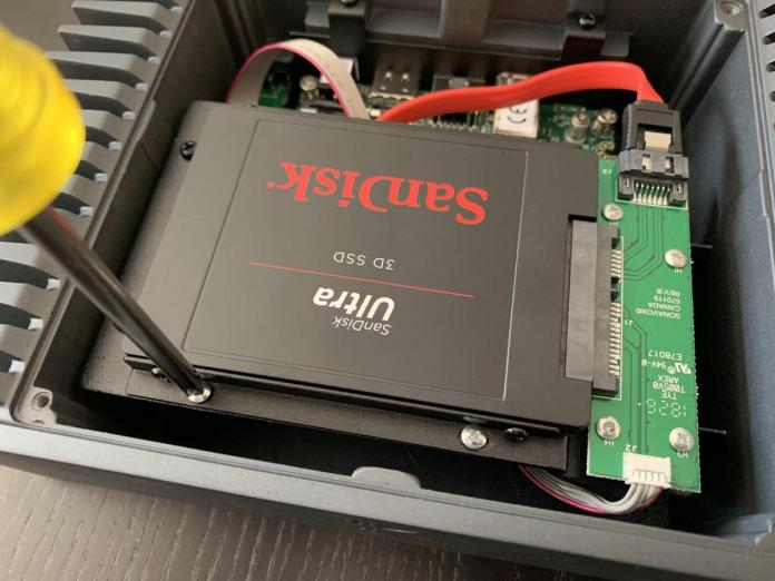 I had some minor issues installing an SSD Drive into the Nucleus' drive bay due to its tight toleran