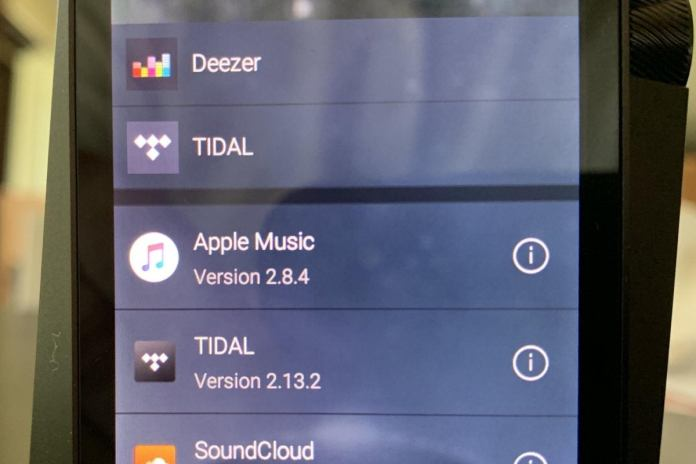 Open App allows you to load a whole host of new music streaming services. To use the offline music m