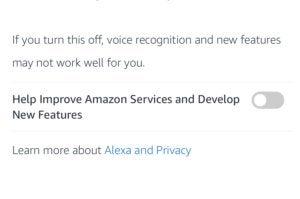 amazon alexa voice recordings