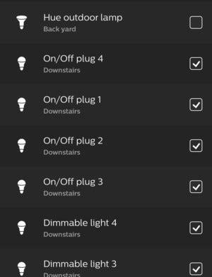 innr smart plug hue app