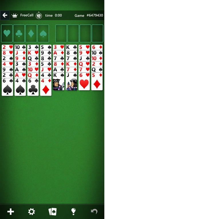 android win10 10 solitaire