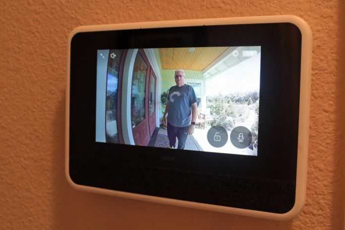doorbell on vivint sky control panel