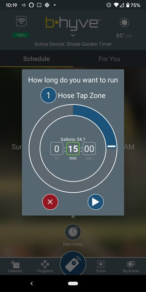 b hyve manual timer