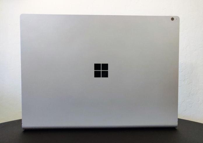 Microsoft Surface Book 3 rear