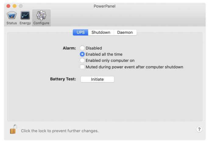 amazonbasics software alarm configuration