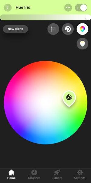 приложение hue iris