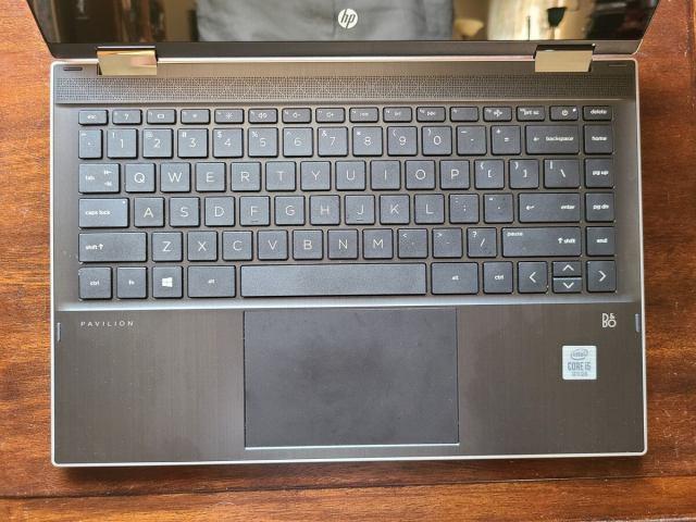 Трансформируемая клавиатура HP Pavilion x360 14 dw0097nr