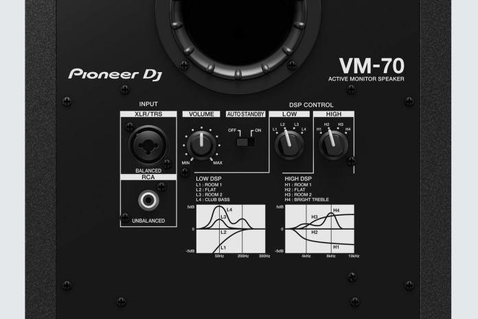 vm 70 rear panel