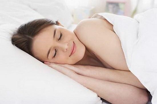美女-睡眠