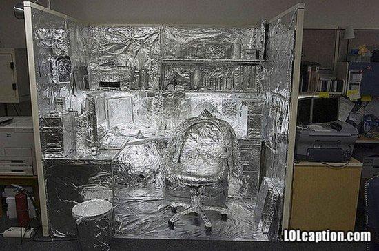 錫箔辦公室