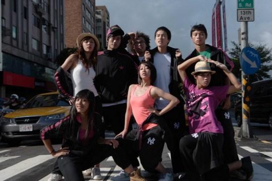 街舞狂潮-八個小孩