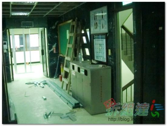 辦公室裝修-電梯間