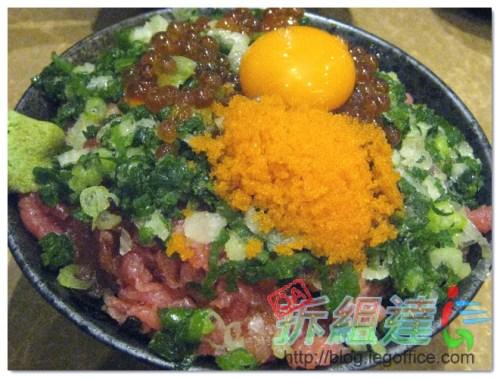 金泰食堂,黑鮪魚肚肉泥蓋飯