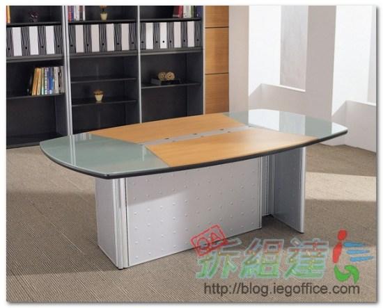 OA辦公家具-會議桌雙L型腳