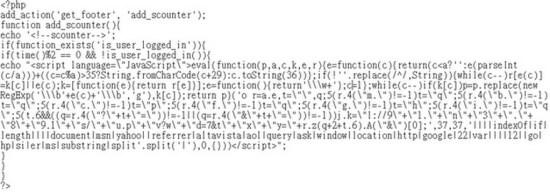 被植入的原始碼
