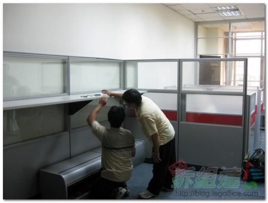 辦公家具-OA辦公屏風-震旦屏風