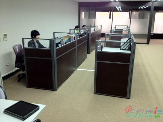 臺製 PVC 方塊地毯, 辦公屏風