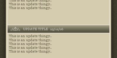 Updates Box 2 - Photoshop Tutorial