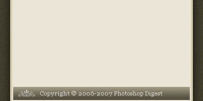 Copyright Bar - Photoshop Tutorial