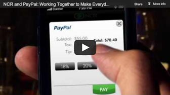 NCR and PayPal:                            Working Together to Make Everyday Easier for                            Consumers