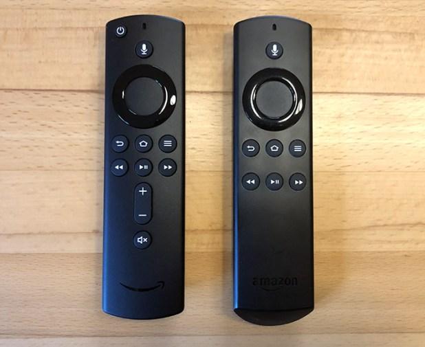 Alexa Voice Remote Control Old New