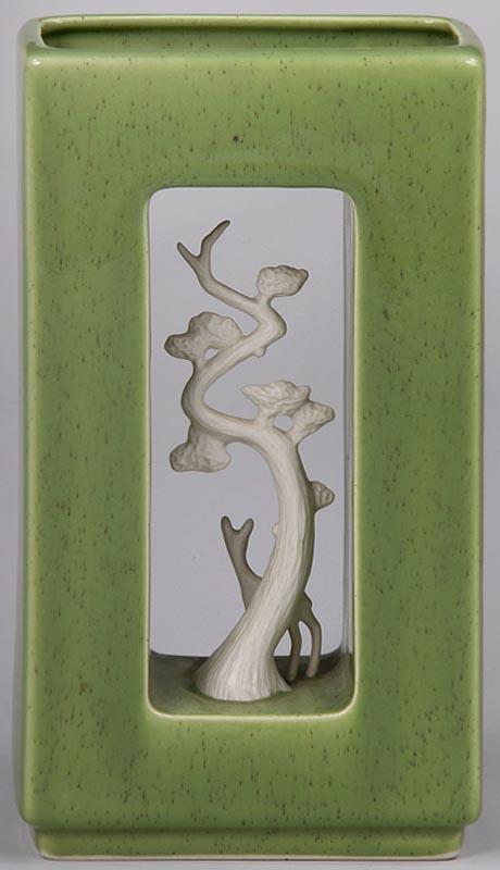 IGavel Auctions HOWARD PIERCE Art Pottery Vase FR3SH