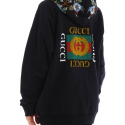 01d6575b Floral Patch Printed Sweatshirt By Gucci Sweatshirts & Sweaters