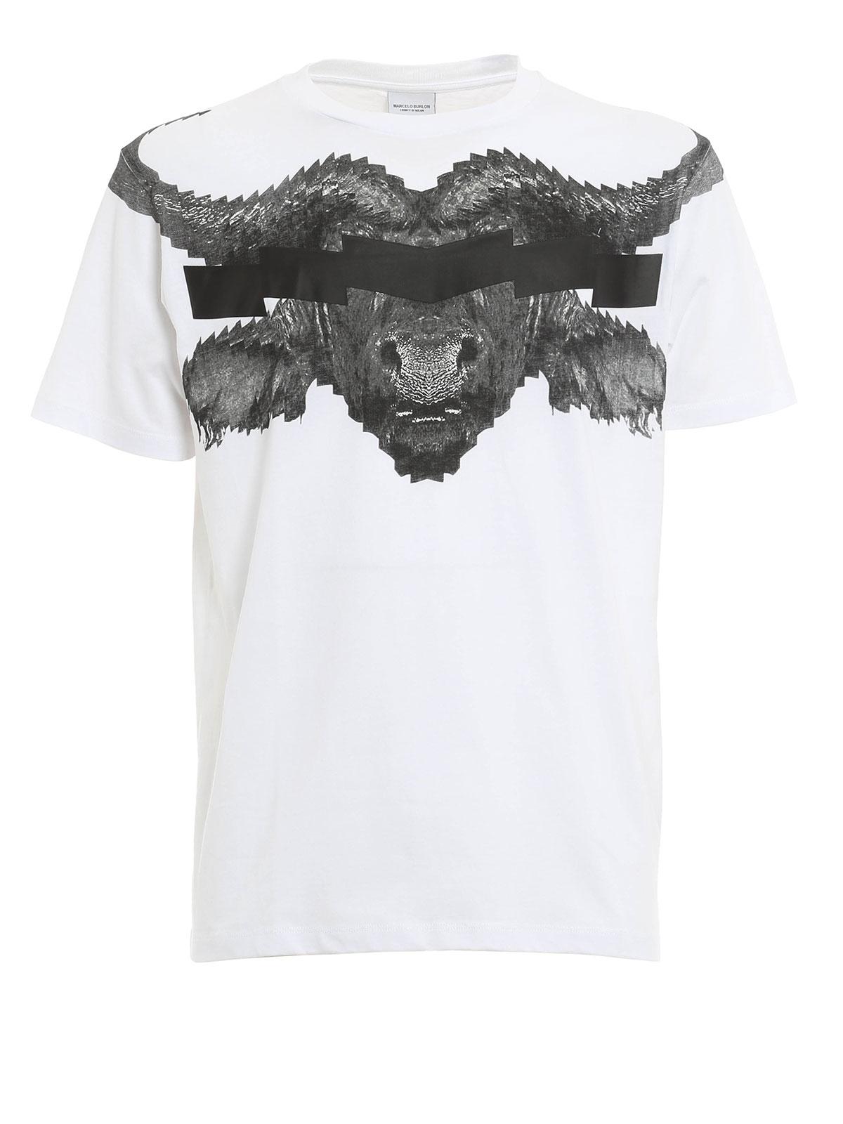 Marcelo Burlon POKIGRON T Shirt T Shirts